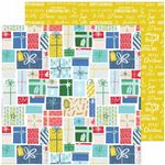 Pinkfresh Studio - Home For The Holidays - Holiday Gifts 12 x 12 Paper